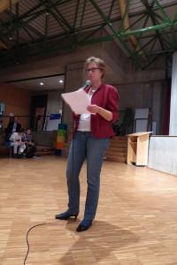 """Frau Hartmann von der Lippischen Landeskirche, Mitorganisatorin von """"Zusammenleben"""" gelingt"""