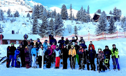 Foto Wintersportexkursion 2017 GSG DT