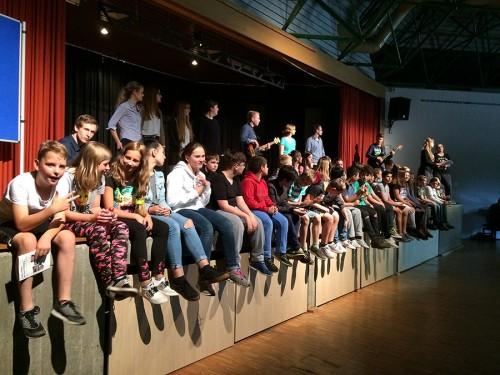 Vielen Dank an die Studenten, Herrn Mascher und die begleitenden Musiklehrer Frau Heufers, Frau Schuster und Herrn Rudkowski