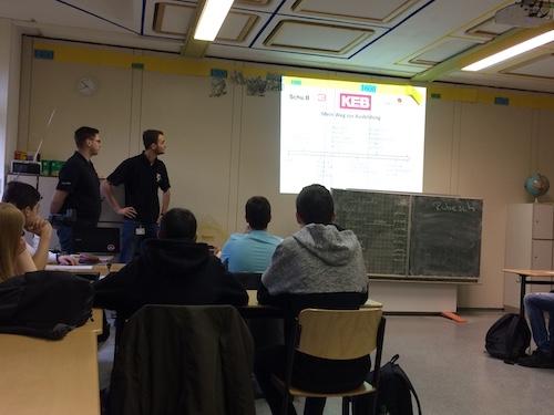 Ausbildungsbotschafter der Firma KEB aus Barntrup