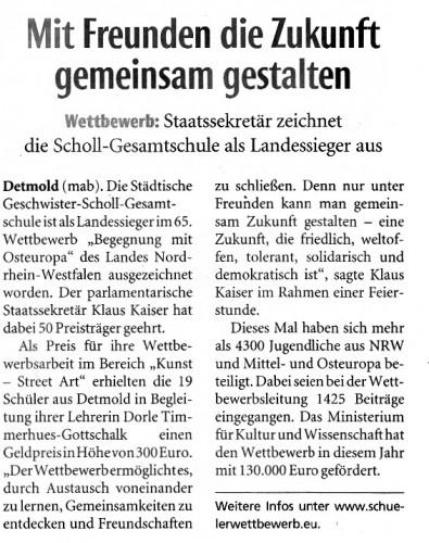 Zeitungsartikel PDF.