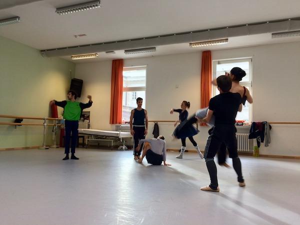 """Tanzszene aus dem """"Nussknacker"""""""