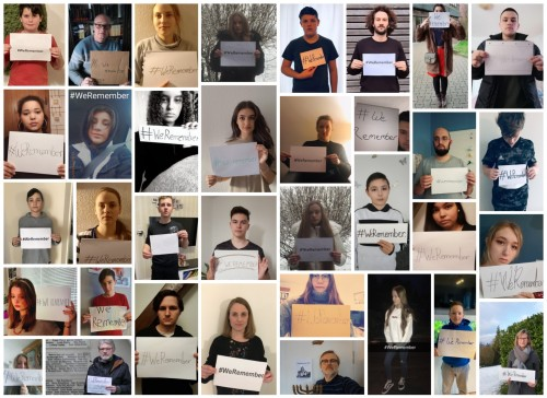Collage #WeRemember